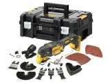 A DeWalt Brushless DCS355N XR 18V Multi-Tool Bare Unit + Accessories & TStak Box